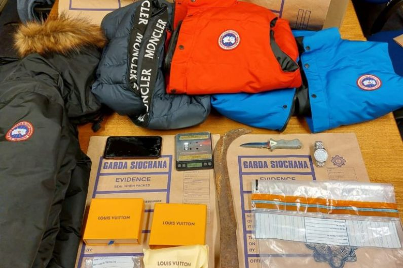 Drugs and high end clothing seized in Bailieboro