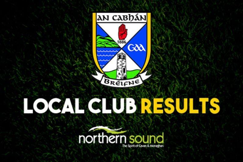 Cavan GAA club results week ending 22nd August