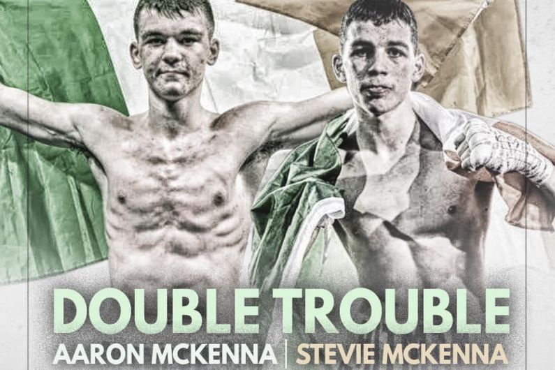 Double Trouble as Mc Kenna Brothers to feature on the same fight night