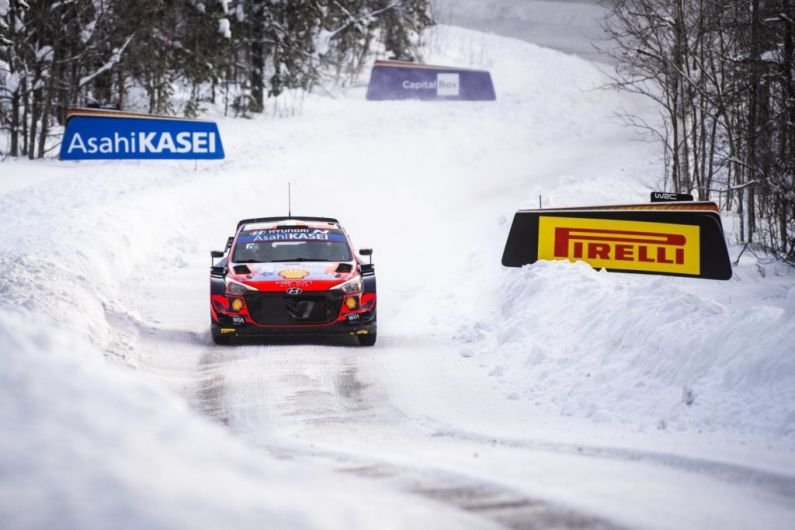 4th place finish for Craig Breen and Paul Nagle at Artic Rally