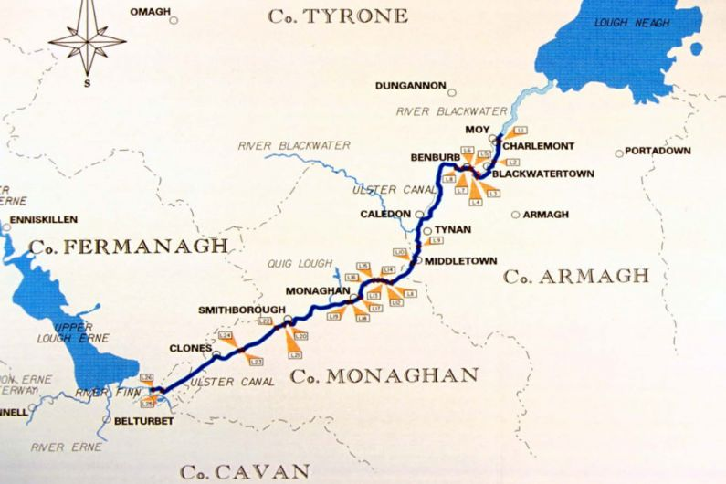 Planning applications lodged for next stage of Ulster Canal Greenway