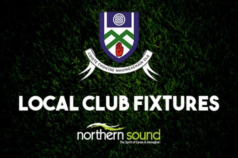 Monaghan GAA fixtures weekending June 13