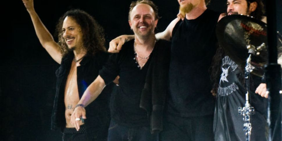 Metallica to live-stream a fre...