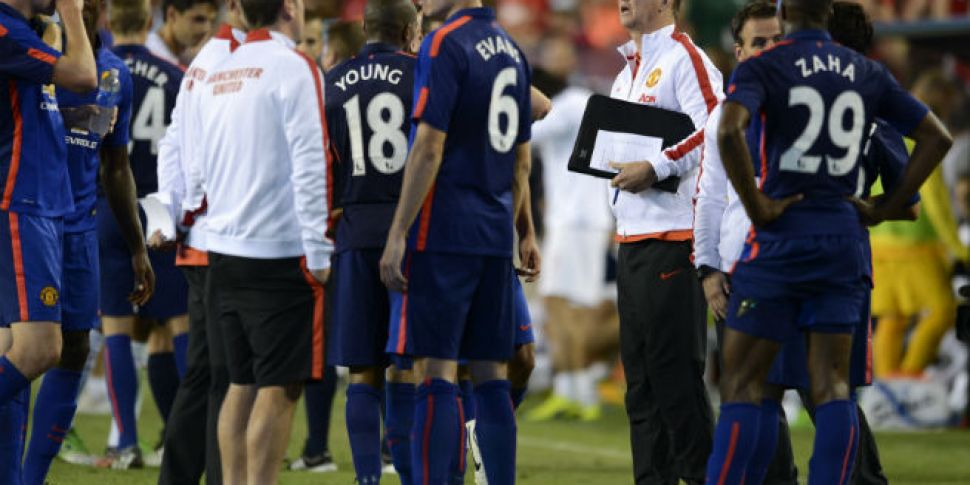 Expect Van Gaal to be a tactic...