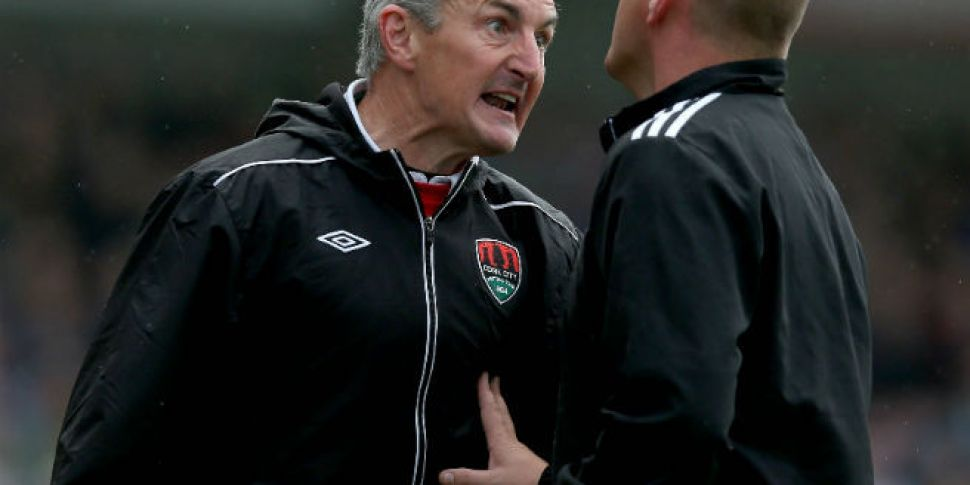 Cork City manager Caulfield on...