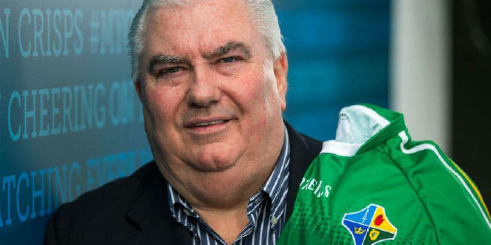 Joe Kernan announces Ireland&#...