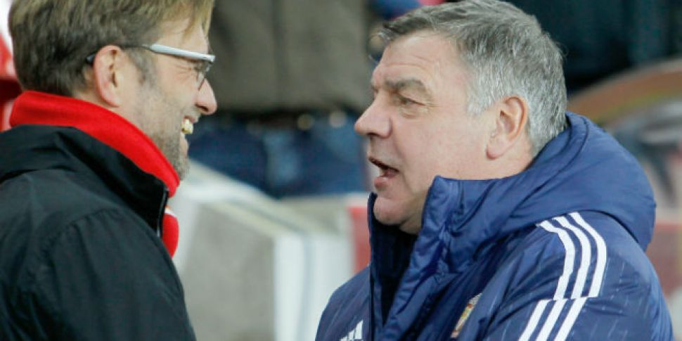 Allardyce insists he wasn'...