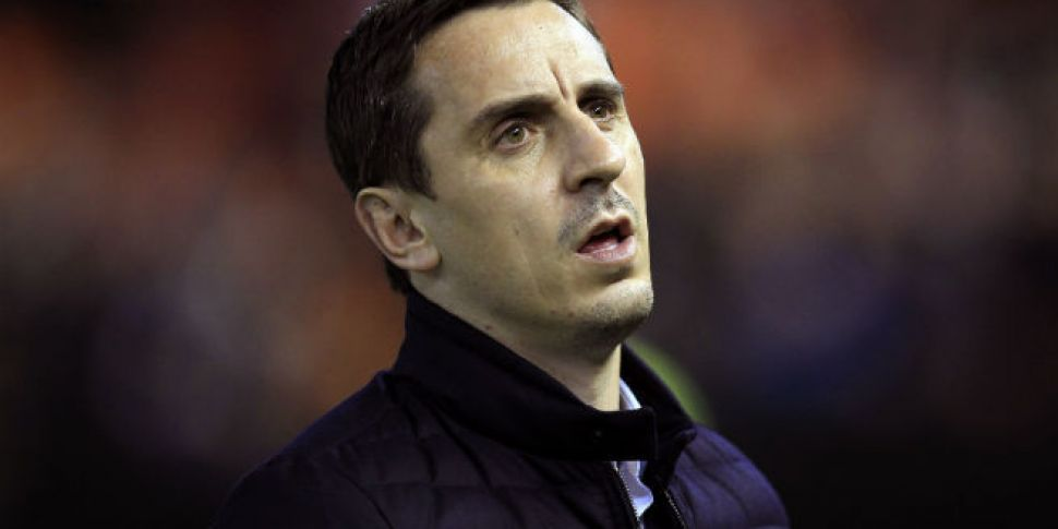 WATCH: Gary Neville is repeate...