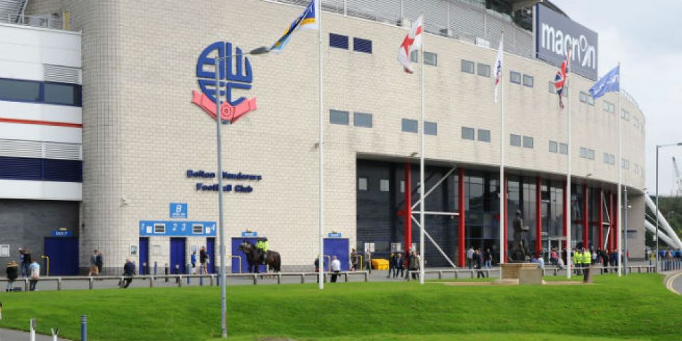 Bolton Wanderers on the verge...