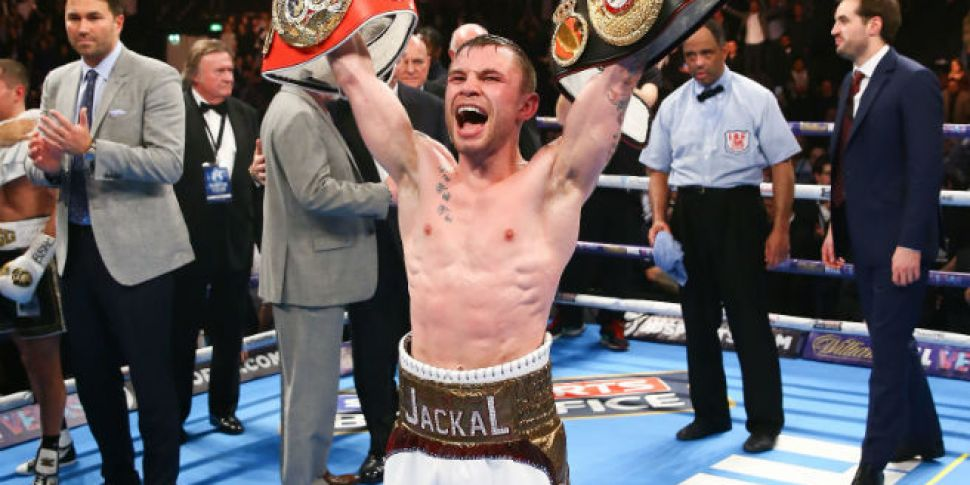 Carl Frampton may be about to...