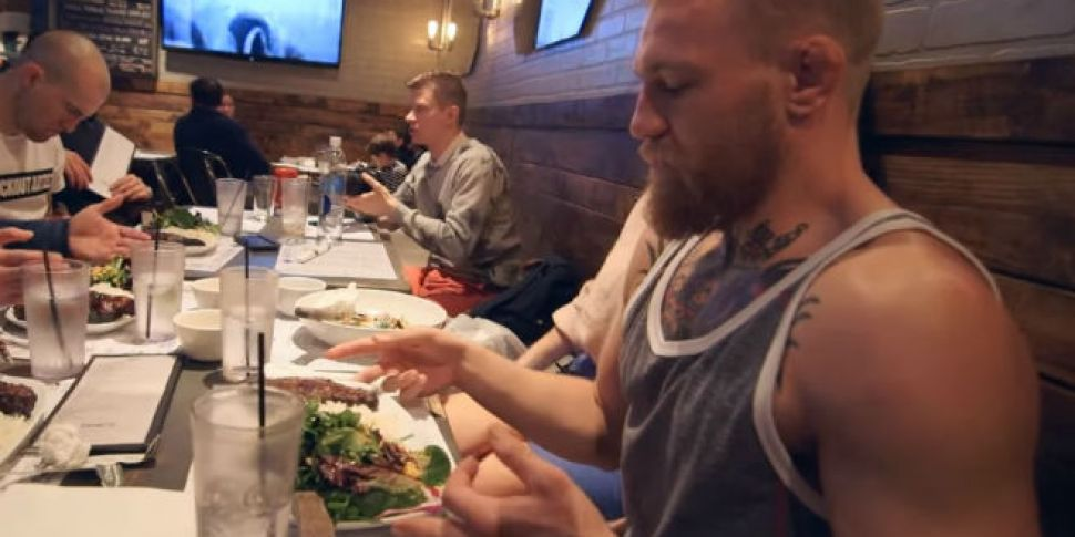 WATCH: Conor McGregor is havin...