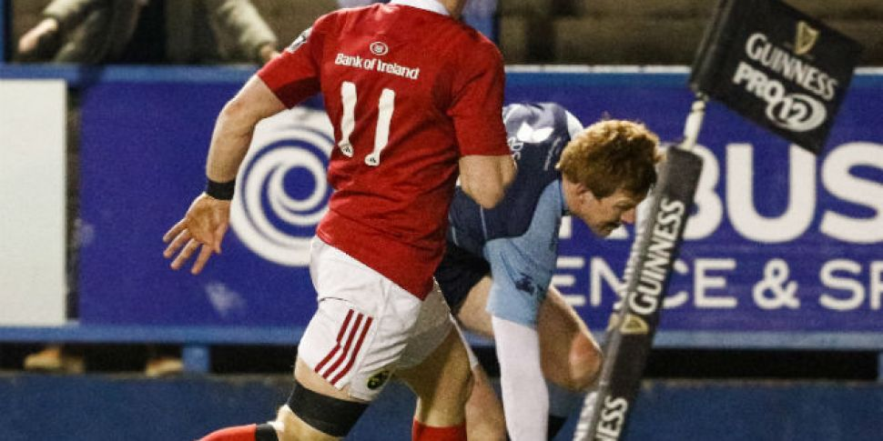 In Pictures: Munster miss the...