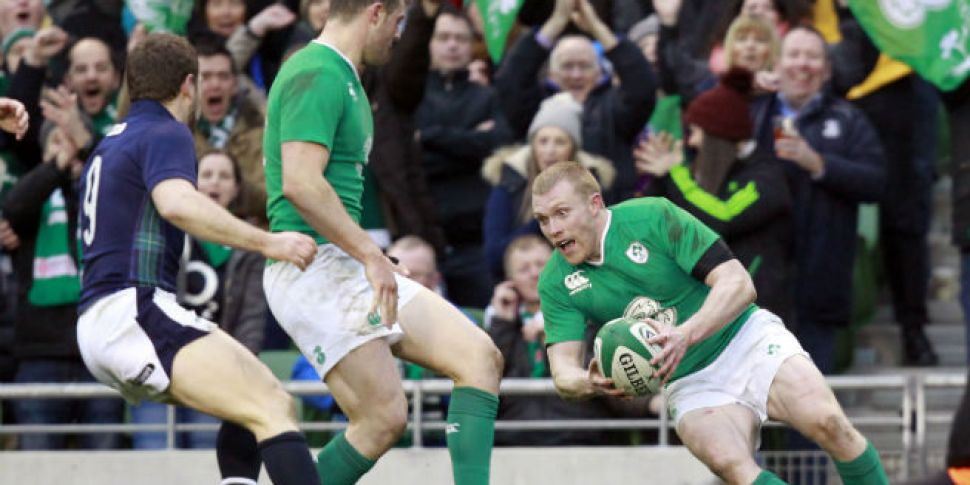 Dominant Ireland dismiss Scott...