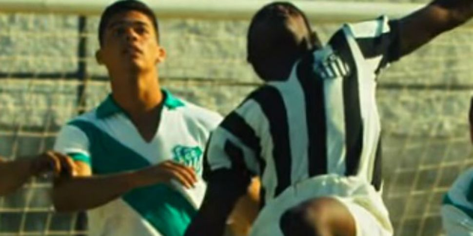 WATCH: The Pele biopic finally...