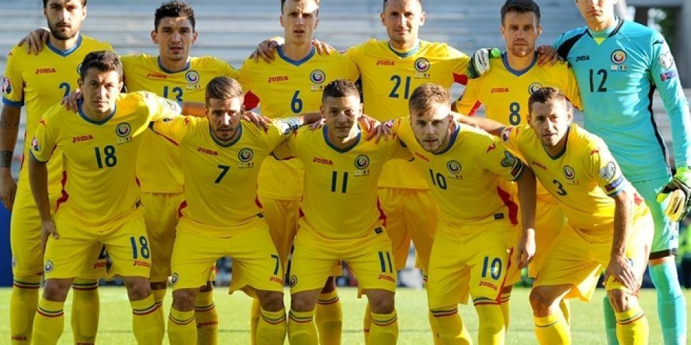 Sum craic: Romania team wear c...