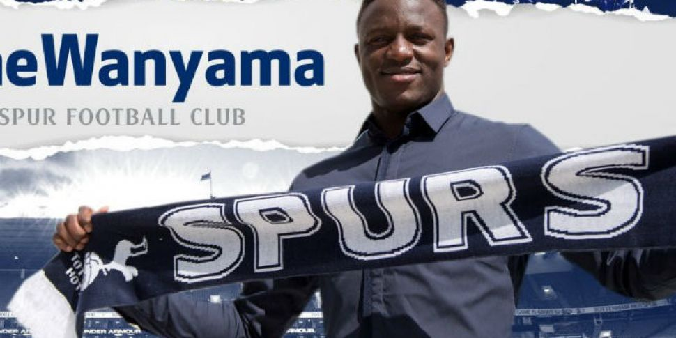 Tottenham sign Victor Wanyama...