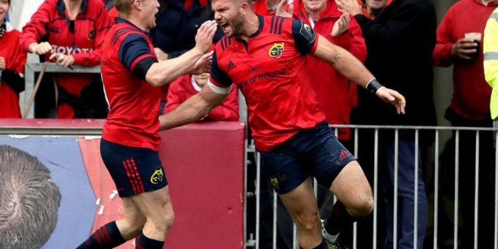 As It Happened: Munster honour...