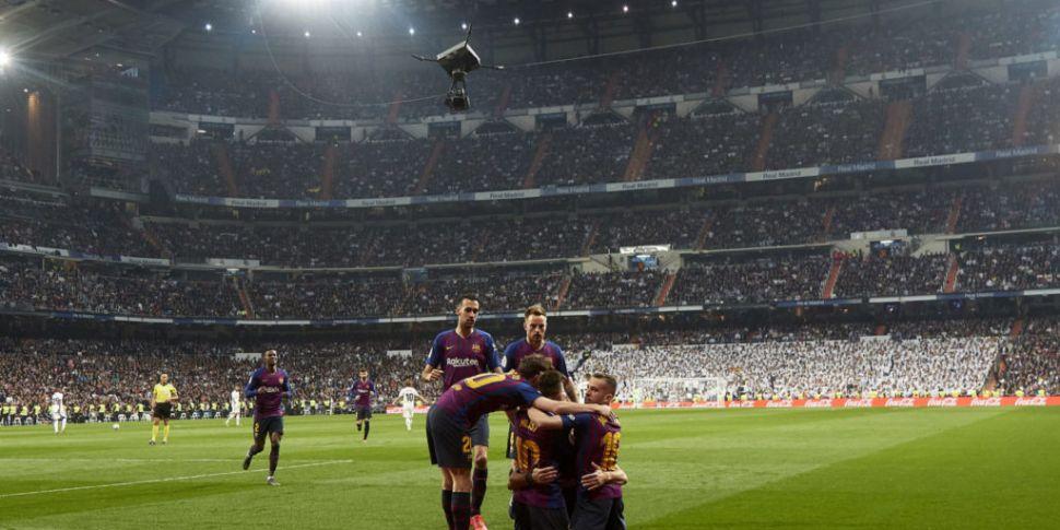 La Liga request change to this...