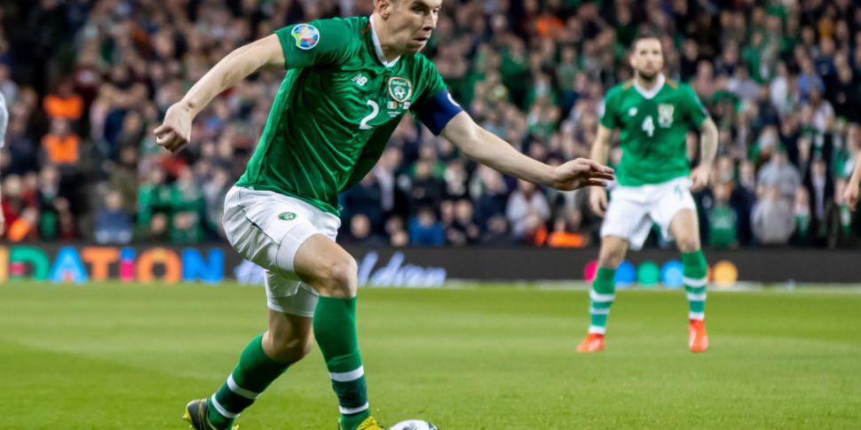 Seamus Coleman on Denmark: