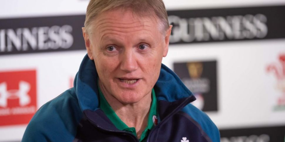 Joe Schmidt names two uncapped...
