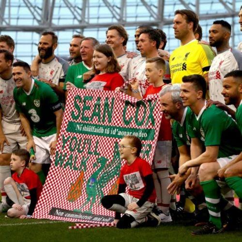 GALLERY: Sean Cox Charity Matc...