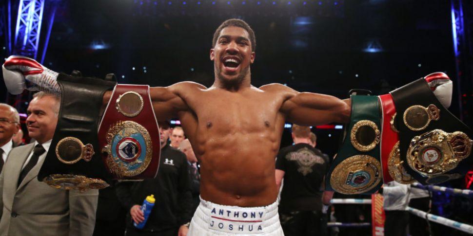 Joshua opponent confirmed for...