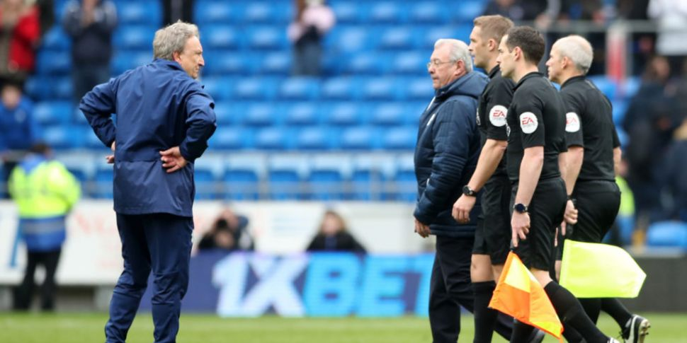 Cardiff City manager Neil Warn...