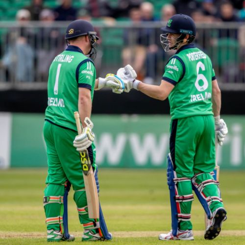 GALLERY: Ireland cricket team...