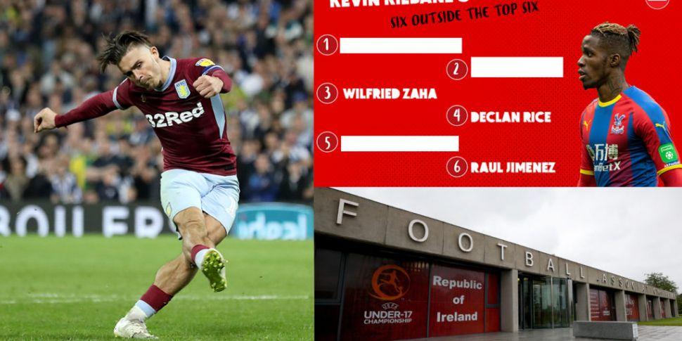 Kev's six outside the top six,...