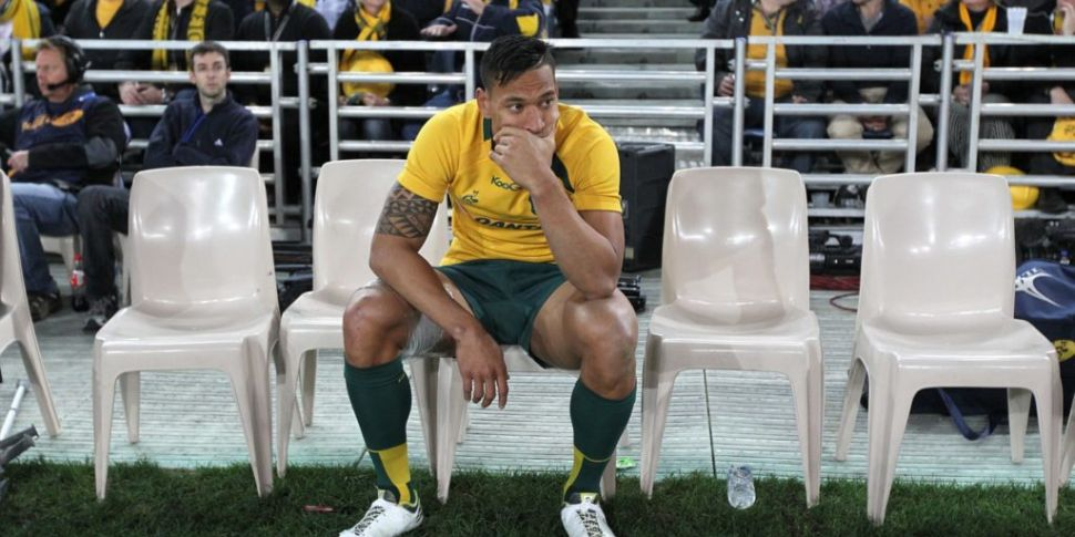 Folau responds to Australia sa...