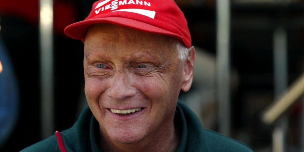 Formula 1 legend Niki Lauda ha...