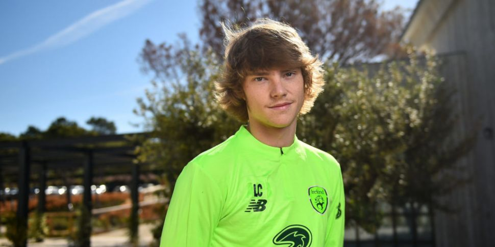 Luca Connell's Ireland call-up...