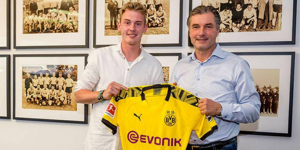 Dortmund sign Liverpool-linked...
