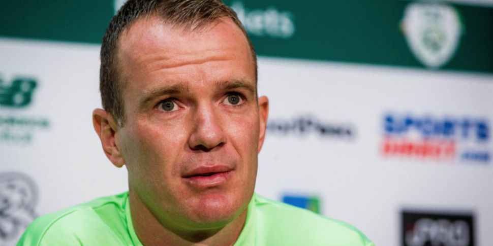 Glenn Whelan on the only