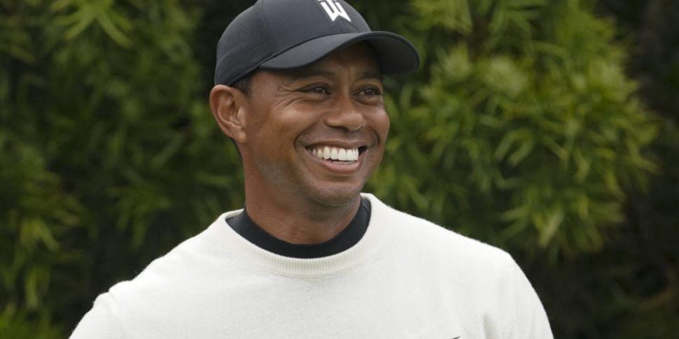Tiger Woods makes flying start...
