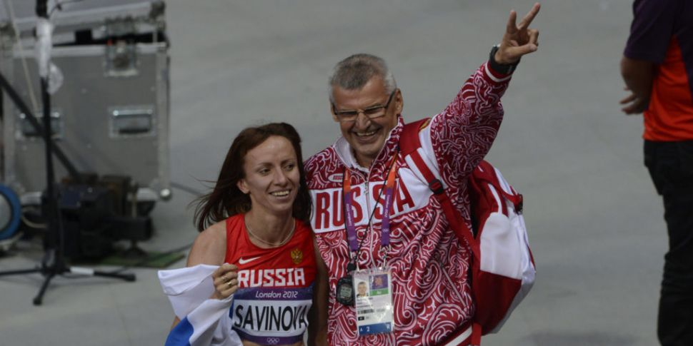 Seven Russian athletes found t...