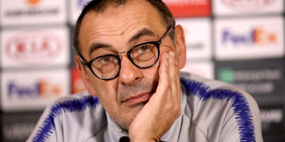 Sarri leaves Chelsea to take o...