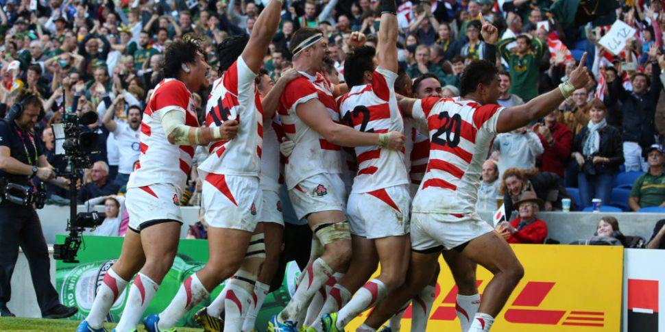 Rugby World Cup memories: Japa...
