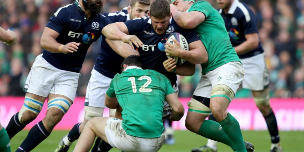 Scotland's most capped player...