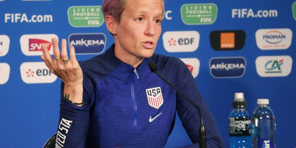 Megan Rapinoe says US team 'do...