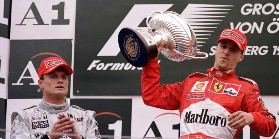 When Eddie Irvine took the man...