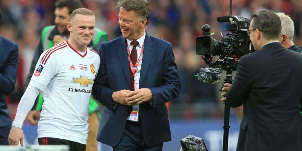 Wayne Rooney picks Van Gaal as...