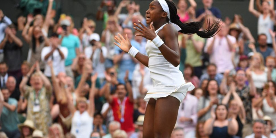 Teenage Cori Gauff's Wimbledon...