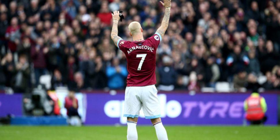 West Ham confirm Arnautovic de...