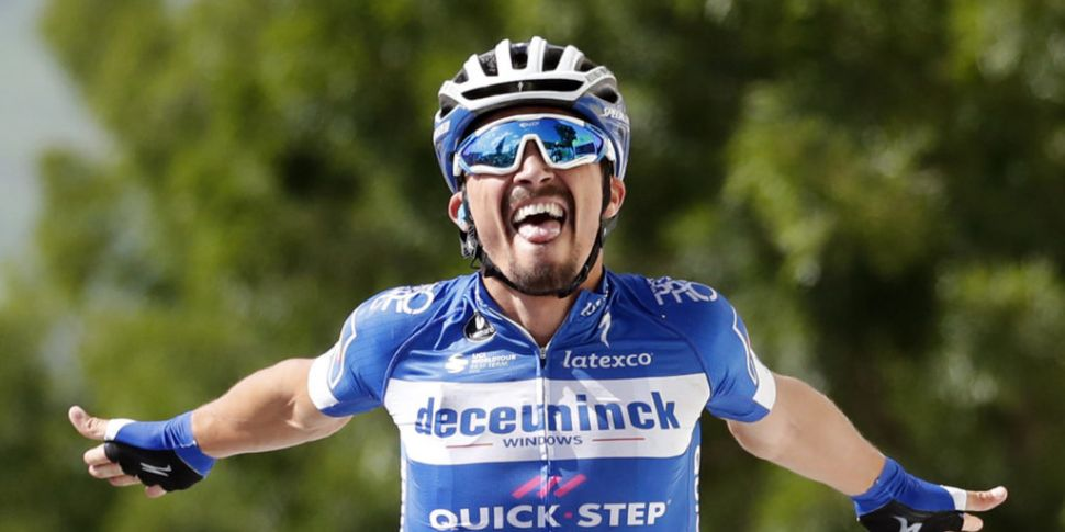 Alaphilippe wins stage 3 of To...
