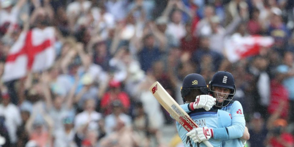 Eoin Morgan leads England to C...