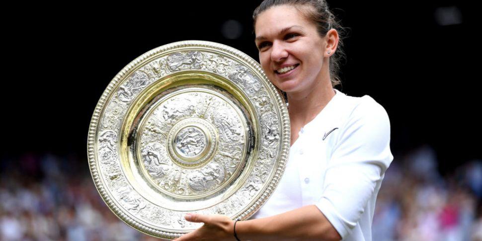 Simona Halep claims Wimbledon...