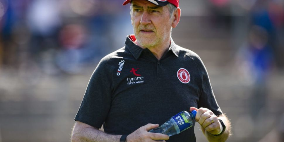 Mickey Harte says showing auth...