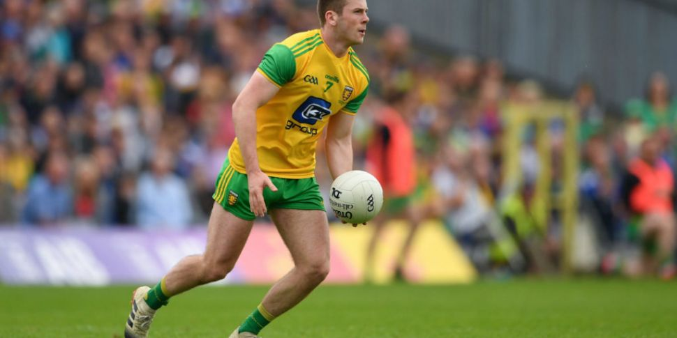 Donegal's Eoghan Bán Gallagher...