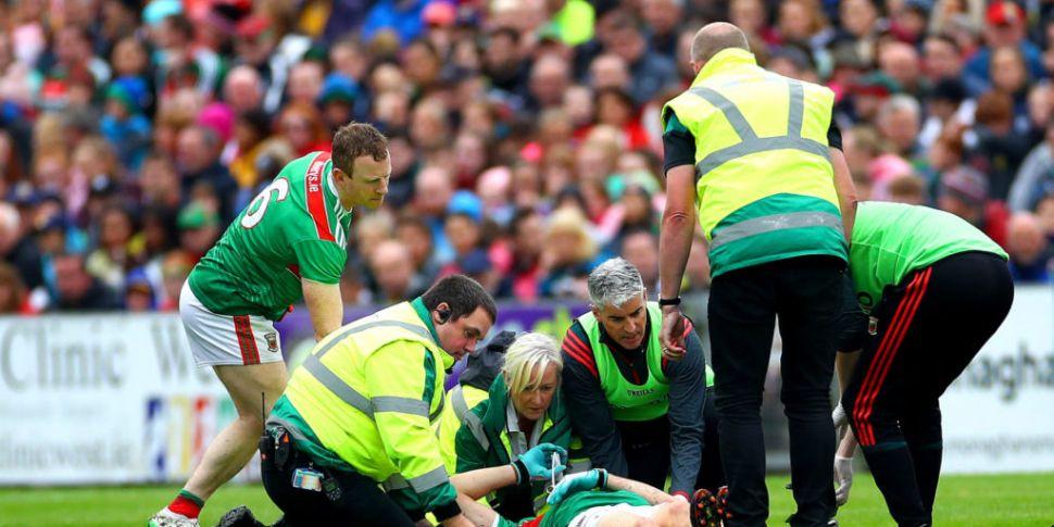 Jason Doherty's knee ligament...